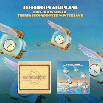 JEFFERSON AIRPLANE - Long John Silver / Thirty Seconds Over Winterland (Esoteric Recordings/2020)