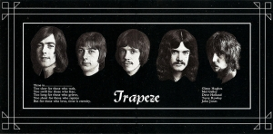 "TRAPEZE ""Trapeze"", ""Medusa"", ""You Are the Music… We're Just the Band"" (Cherry Red Records - 2020)"