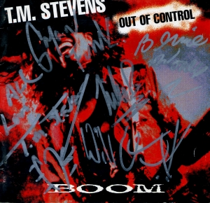 "MONUMENTS : T.M. STEVENS - ""Out of Control - Boom"" (Polystar Japan - 1995)"