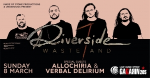 Riverside - Live in Athens, 8 Μαρτίου 2020, Gagarin 205