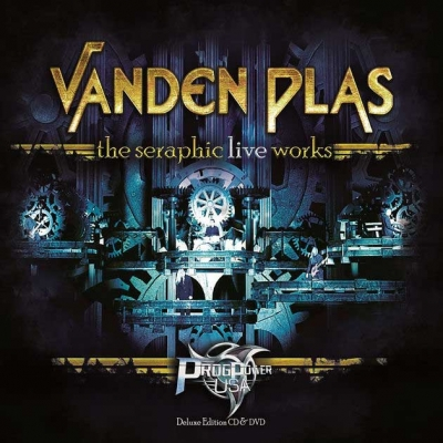 "VANDEN PLAS - ""The Seraphic Live Works"" (Live cd/dvd)  (Frontiers Music s.r.l.  2017)"