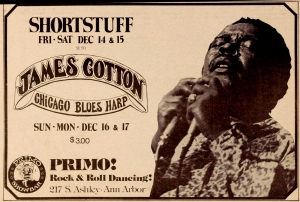 JAMES COTTON (1935- 2017)