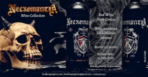 Headbanging Wine & Spirits: Necromantia wine collection