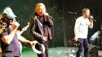 BRIAN JOHNSON ON STAGE - With Paul Rodgers and Robert Plant