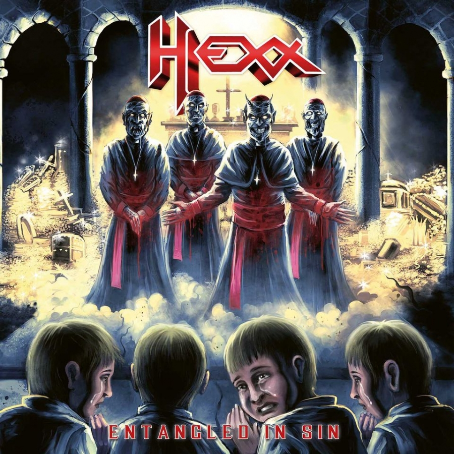 HEXX - Entangled In Sin  (High Roller Records/2020)