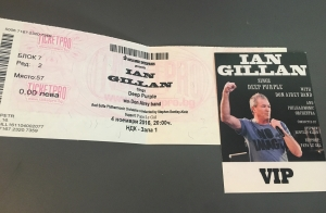 IAN GILLAN, DON AIREY BAND with Sofia Philarmonic Orchestra, PAPA LeGAL - Μέγαρο Μουσικής, Σόφια, 4 Νοεμβρίου 2016