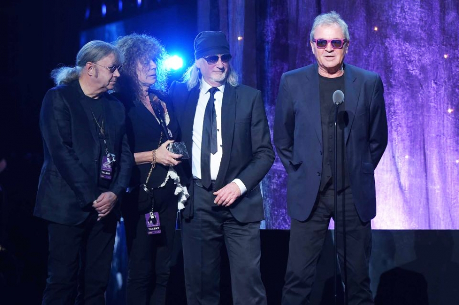 DEEP PURPLE INTO THE ROCK AND ROLL HALL OF FAME