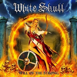 "WHITE SKULL - ""Will Of The Strong"" (Dragonheart Records  2017)"