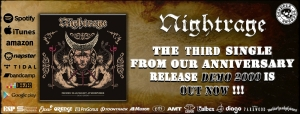 NIGHTRAGE- Poems Doomed To Oblivion demo 2000 (Despotz Records/ 2020)