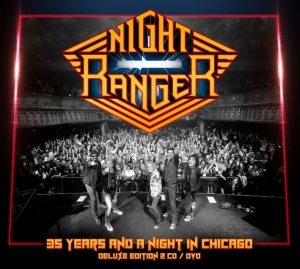 Night Ranger - 35 Years And A Night In Chicago (Live)  (Frontiers)