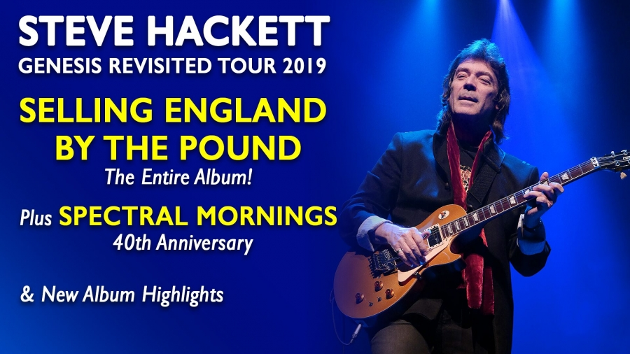 "STEVE HACKETT - Tour: Genesis Revisited 2019 / ""Pustervik"" Gothenburg - SWEDEN / 15 May 2019"