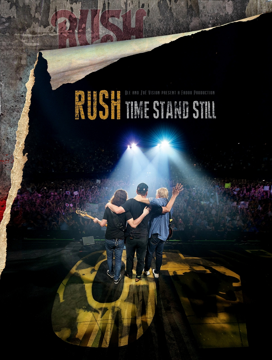 RUSH – TIME STAND STILL DVD/BLU RAY και 2112 SUPER DELUXE ΕΠΑΝΑΚΥΚΛΟΦΟΡΙΑ