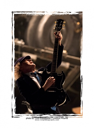SHOT FROM THE VAULT: Angus Young