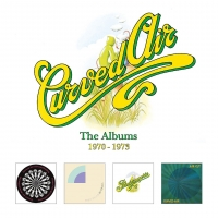 CURVED AIR - The Albums 1970-1973 (Esoteric Recordings / 2021)