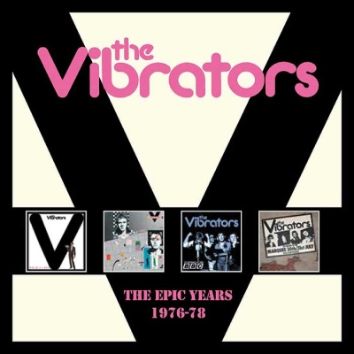 The Vibrators – The Epic Years 1976-1978 (Cherry Red)