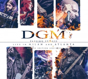 "DGM - ""Passing Stages: Live in Milan and Atlanta""   (Frontiers Music s.r.l  2017)"