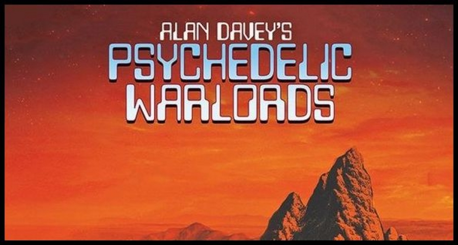 ALAN DAVEY'S PCYCHEDELIC WARLORDS – 1. Captain Lockheed & The Starfighters Live! (Purple Pyramid/2019) 2. Hall Of The Mountain Grill Live  (Purple Pyramid/2019)
