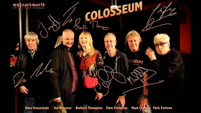 "COLOSSEUM - ""Those Who Are About To Die Salute You"" & ""Valentyne Suite"" (Esoteric Recordings)"
