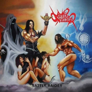 "BATLLE RAIDER - ""Battle Raider"" (Fighter Records)"