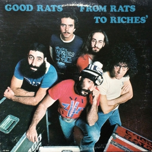 "MONUMENTS: THE GOOD RATS ""Rats To Riches""  (Passport Records-1978)"