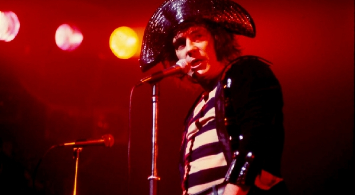 "ALEX HARVEY - ""THE  LAST OF THE  TEENAGE  IDOLS"""